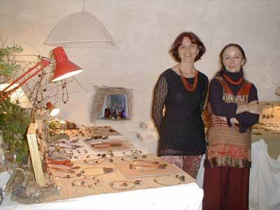 Sandra Clark et Dominique Le Cronc