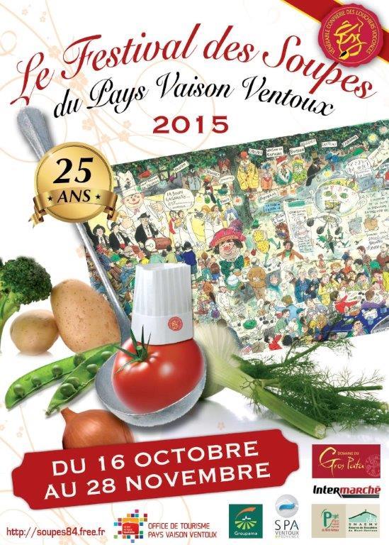 Flyer RECTO-calendrier Festival des Soupes 2015