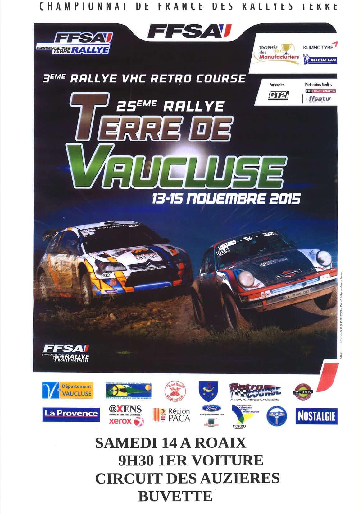 affiche Rallye-buisson